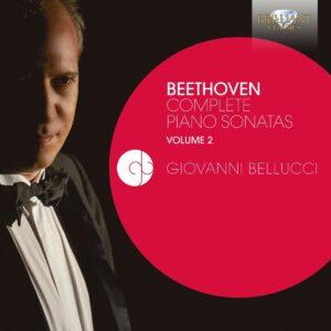 Beethoven: Complete Piano Sonatas Vol.2 - Giovanni Bellucci