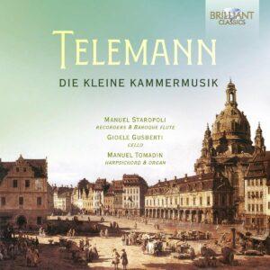 Telemann: Die Kleine Kammermusik - Manuel Tomadin
