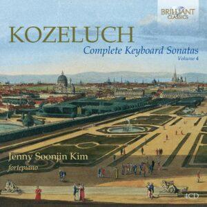 Kozeluch: Complete Keyboard Sonatas Vol. 4 - Jenny Soonjin Kim