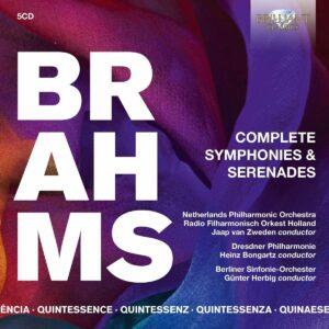 Quintessence Brahms: Complete Symphonies & Serenades - Jaap van Zweden