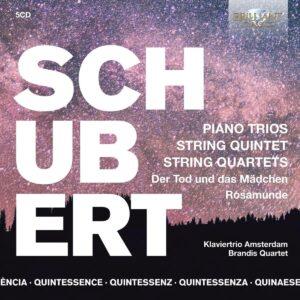 Quintessence Schubert: Piano Trios, String Quintet - Wen-Sinn Yang