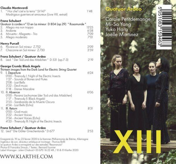XIII - Quatuor Ardeo