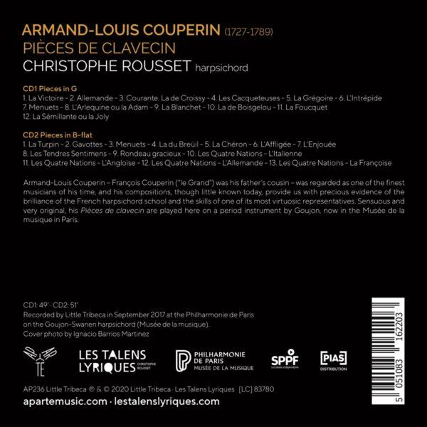 Armand-Louis Couperin: Pièces de Clavecin - Christophe Rousset