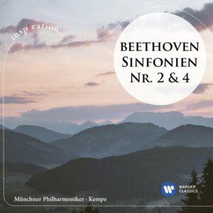 Beethoven: Symphonies Nos. 2 & 4 - Rudolf Kempe