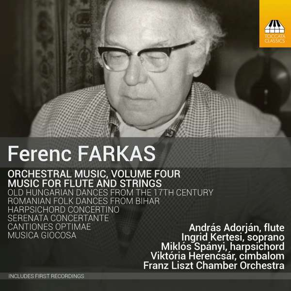 Farkas: Orchestral Music, Vol. 4: Music For Flute And Strings - Janos Rolla
