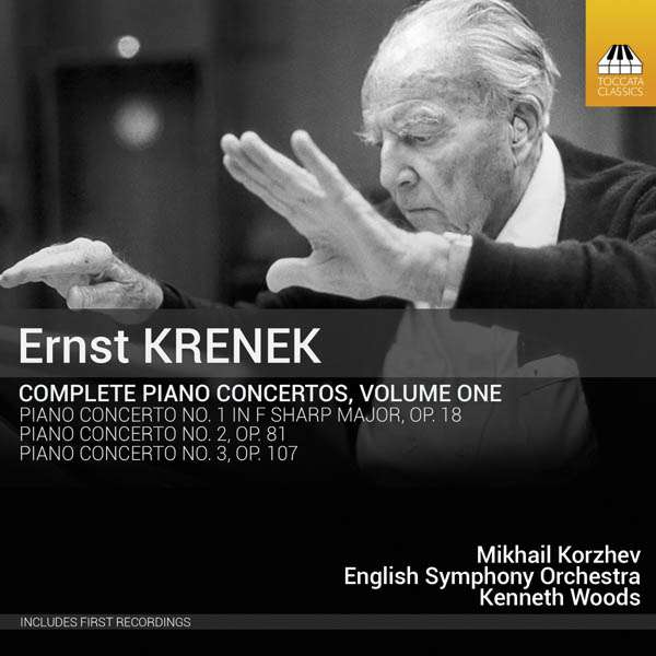 Krenek: Piano Concertos Vol. 1 - Mikhail Korzhev