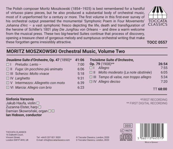 Moritz Moszkowski: Orchestral Music, Volume Two - Ian Hobson