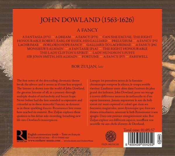 John Dowland: Lute Works, A Fancy - Bor Zuljan