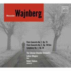 Weinberg: Flute Concertos Nos. 1 & 2, Symphony No. 7 - Lukasz Dlugosz