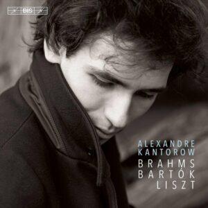 Brahms / Bartok / Liszt - Alexandre Kantorow