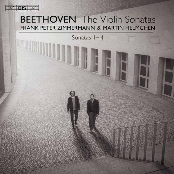 Beethoven: The Violin Sonatas Nos 1 - 4 - Frank Peter Zimmermann