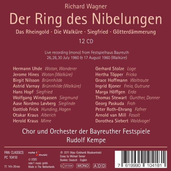 Richard Wagner: Der Ring Des Nibelungen - Rudolf Kempe