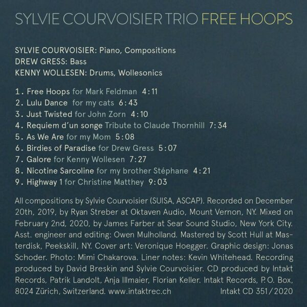 Free Hoops - Sylvie Courvoisier Trio