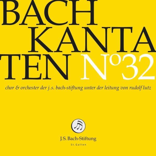 Bach: Kantaten N 32 - Rudolf Lutz