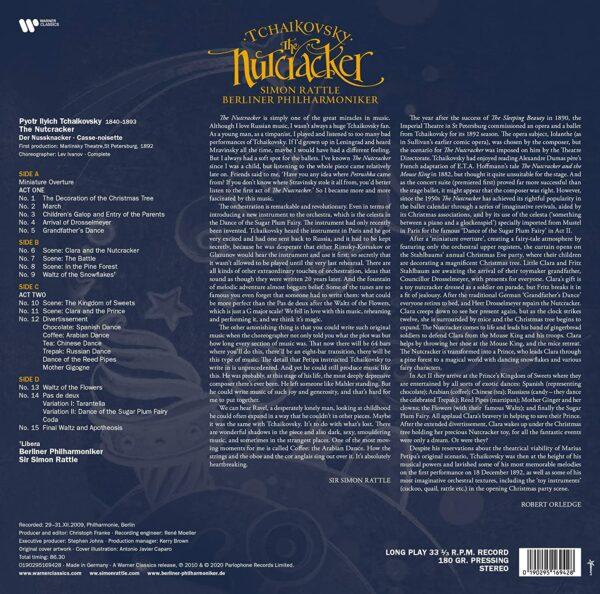 Tchaikovsky: The Nutcracker (Vinyl) - Simon Rattle