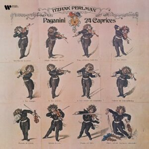 Paganini: 24 Caprices (Vinyl) - Itzhak Perlman