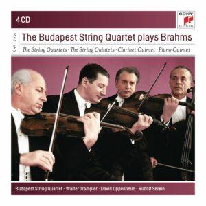 Budapest String Quartet Plays Brahms - Budapest String Quartet