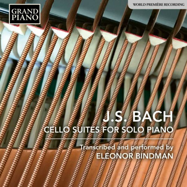 Johann Sebastian Bach: Cello Suite For Solo Piano - Eleonor Bindman