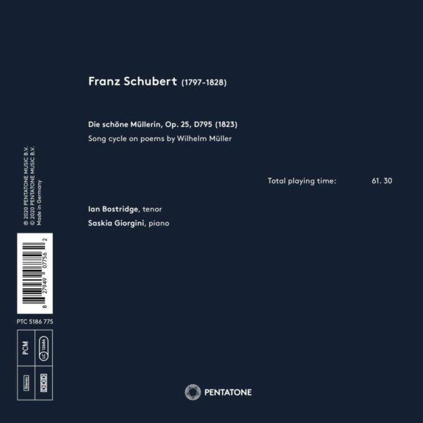 Schubert: Die Schöne Mullerin - Ian Bostridge