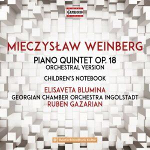 Weinberg: Piano Quintet Op. 18 (Orchestral Version), Chrildren's Notebook - Elisaveta Blumina