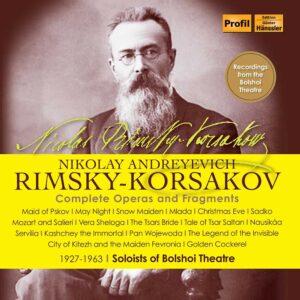 Rimsky-Korsakov: Complete Operas & Fragments