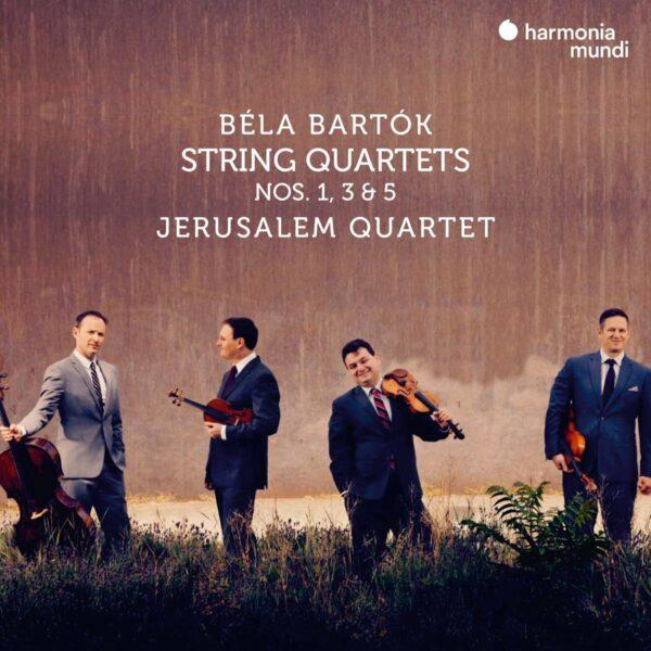 Bela Bartok: String Quartets Nos. 1, 3 & 5 - Jerusalem Quartet