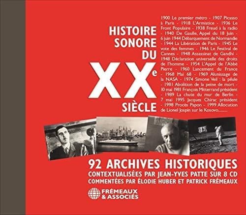 Histoire Sonore Du XXe Siecle - Jean-Yves Patte