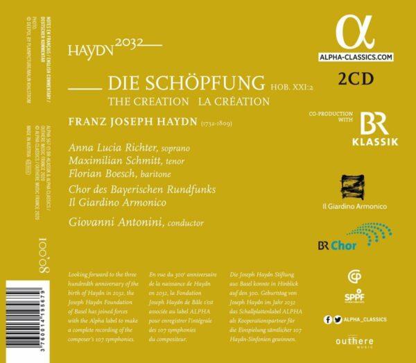 Haydn: Die Schopfung - Il Giardino Armonico
