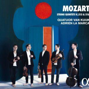Mozart: String Quintets K. 515 & 516 - Quatuor Van Kuijk