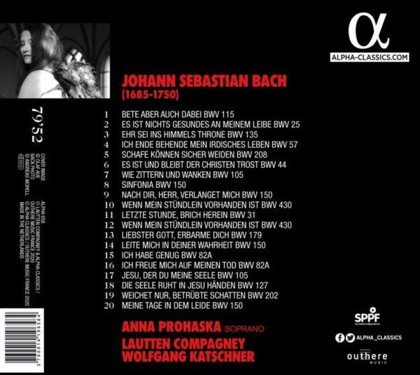 Bach: Redemption - Anna Prohaska