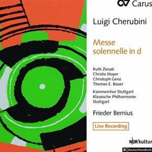 Luigi Cherubini: Messe Solenelle No. 2 In D - Frieder Bernius