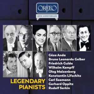 Legendary Pianists - Geza Anda