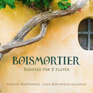 Boismortier: Sonatas For 2 Flutes - Fabiano Martignago