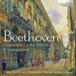 Beethoven: Complete Cello Sonatas & Variations - Marco Testori