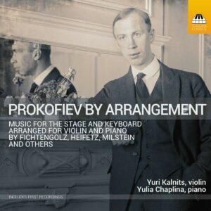 Prokofiev By Arrangement - Yuri Kalnits
