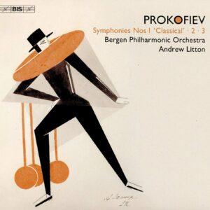 Prokofiev: Symphonies Nos 1-3 - Andrew Litton