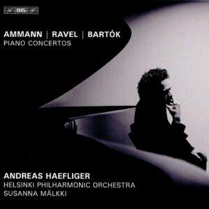Bartok / Ravel / Ammann: Piano Concertos - Andreas Haefliger