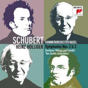 Schubert: Symphonies Nos. 2 & 3 - Heinz Holliger
