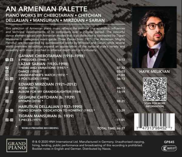 An Armenian Palette - Hayk Melikyan