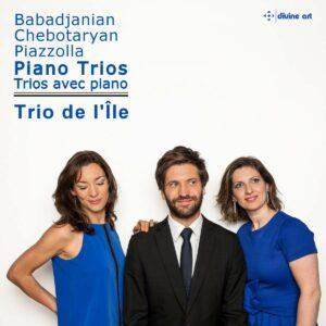 Piazzolla / Babadjanian / Chebotaryan: Piano Trios - Trio De L'Ile