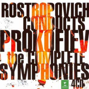 Prokofiev: The Complete symphonies - Mstislav Rostropovitch.