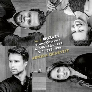 Mozart: String Quartets Vol. 3 - Armida Quartett