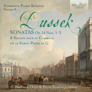 Johann Ladislaus Dussek: Complete Piano Sonatas Op. 14 Nos. 1-3 - Bart Van Oort