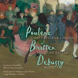 Poulenc / Britten / Debussy: Concerto For 2 Pianos  - Leonora Armellini & Mattia Ometto