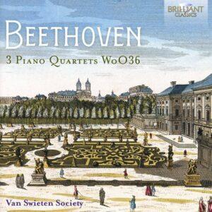 Beethoven: 3 Piano Quartets, Woo36 - Van Swieten Society