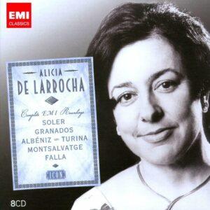 Alicia De Larrocha Plays Spanish Piano Music