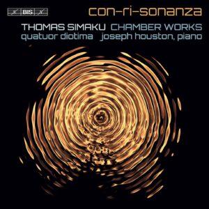Thomas Simaku: Con-Ri-Sonanza - Quatuor Diotima