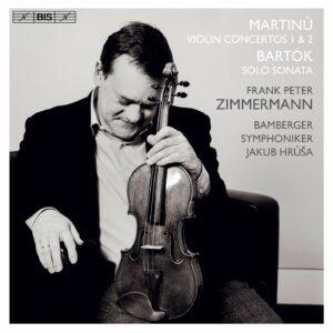 Martinu: Violin Concertos Nos.1 & 2 - Frank Peter Zimmermann