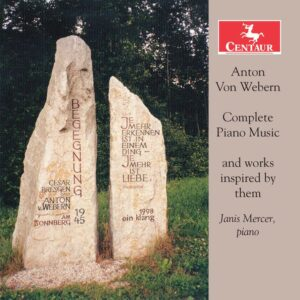 Webern: Complete Piano Music And Works Inspired By Them - Janis Mercer