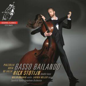 Basso Bailando, Music By Piazzolla, Rota, de Falla - Rick Stotijn